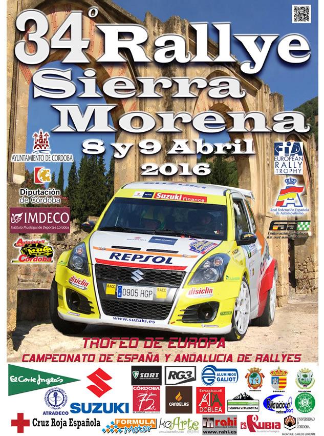 34º Rallye Internacional Sierra Morena en Córdoba