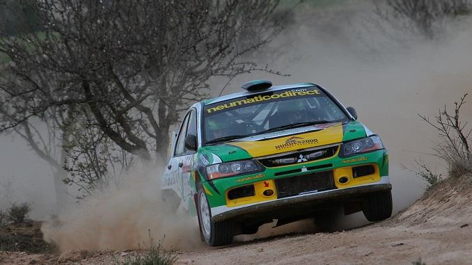 Cuarta posición para Quijada y Canelo en el II Rally Circuito de Navarra