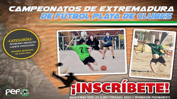 Orellana la Vieja, Sede de los Campeonatos de España de Selecciones de Fútbol Playa