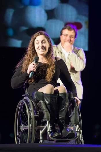 Loida Zabala en la inauguración de los jedes 2016