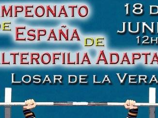 Campeonato de España de Halterofilia Adaptada - Losar de la Vera 2016