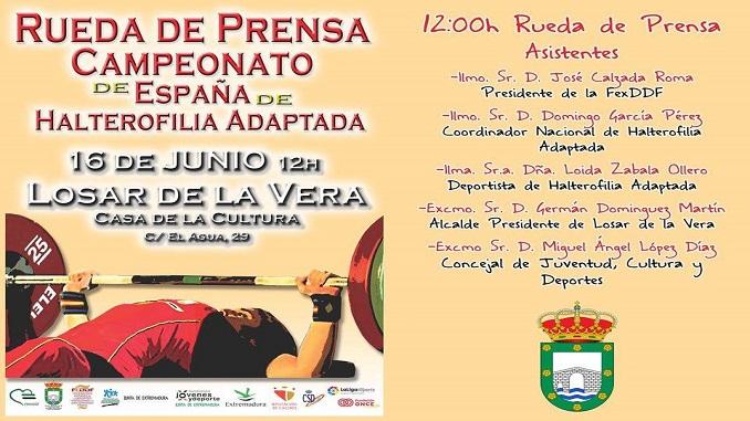 Campeonato de España de Halterofilia Adaptada 2016
