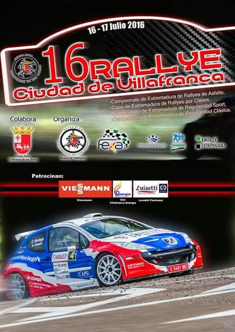 XVI Rallye Ciudad de Villafranca