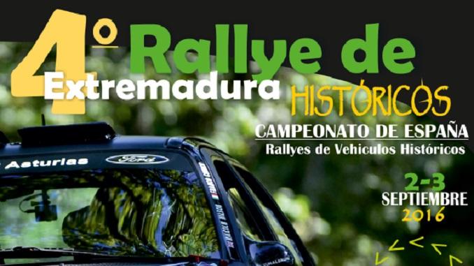 Este fin de semana se celebra el IV Rallye de Extremadura Histórico