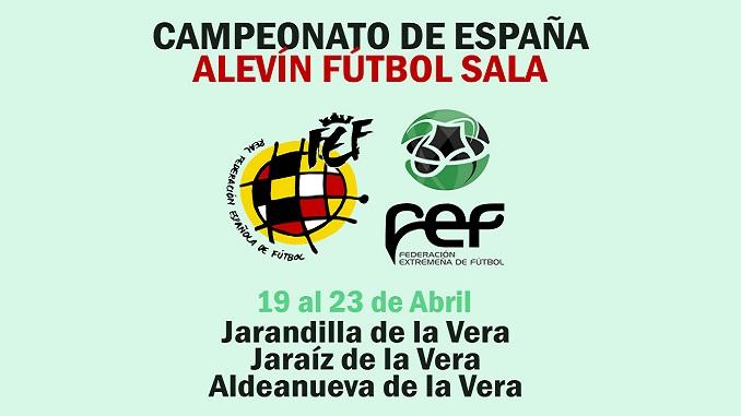 Campeonato de España Alevín de Fútbol Sala 2017