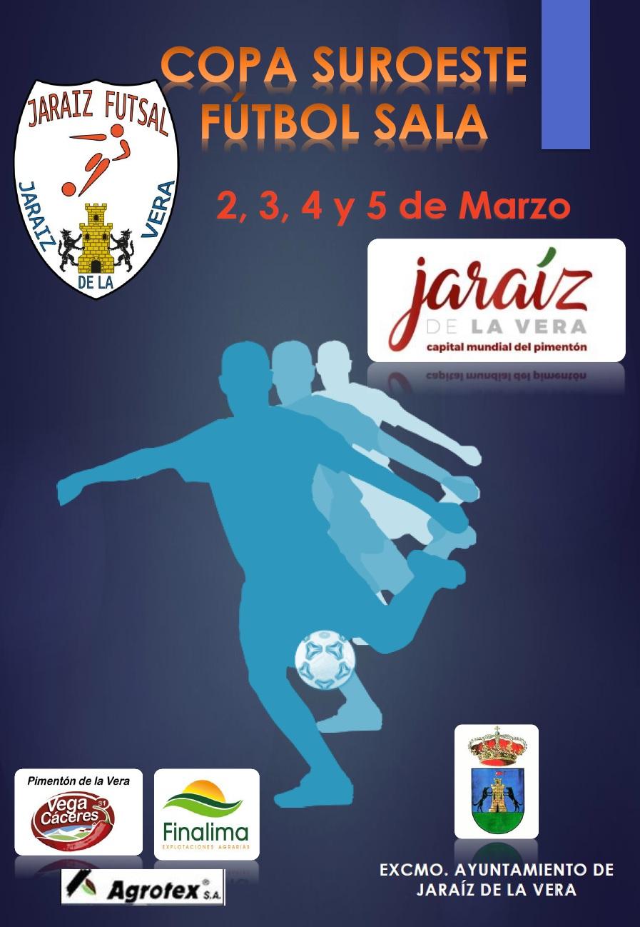 Presentación de la Copa Suroeste de Fútbol Sala en Jaraíz de la Vera