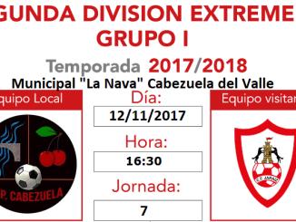 Jornada 7   Previa del CP Cabezuela vs CF Jaraíz