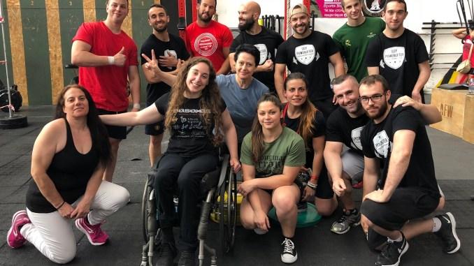 Loida Zabala compite en el primer torneo de Press Banca de Soy Powerlifter
