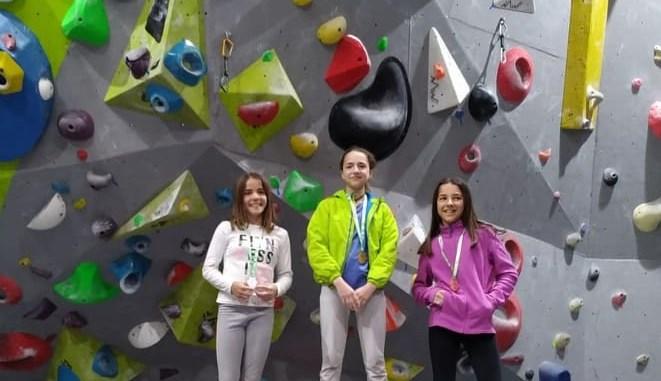 Andrea Rodríguez logra nuevo título en escalada