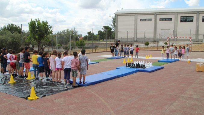 El C.E.I.P. Gregoria Collado celebró el Día del Ajedrez en la Escuela