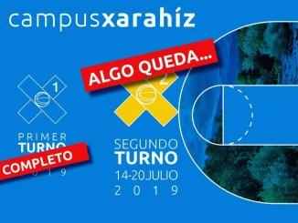 Últimas plazas para el 2º turno del Campus de Baloncesto Xarahíz 2019
