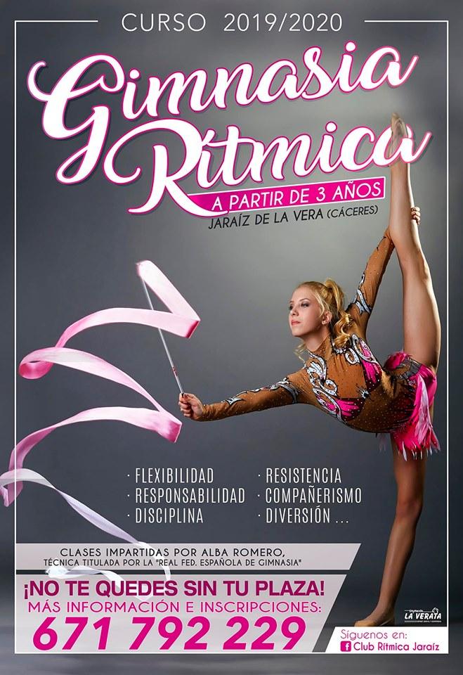 nueva temporada de gimnasia rítmica en Jaraiz de la Vera