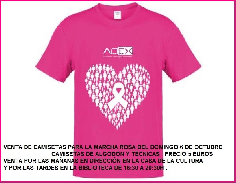 Marcha Rosa el 6 de octubre en Jarandilla de la Vera