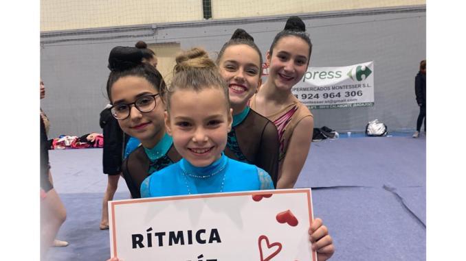 Gran inicio de temporada del Club Gimnasia Rítmica Jaraíz