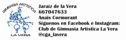 Inauguración de sala de entrenamiento - Club de Gimnasia Artística La Vera