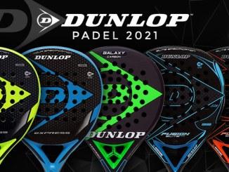 Dunlop incorpora cinco nuevas palas a su colección
