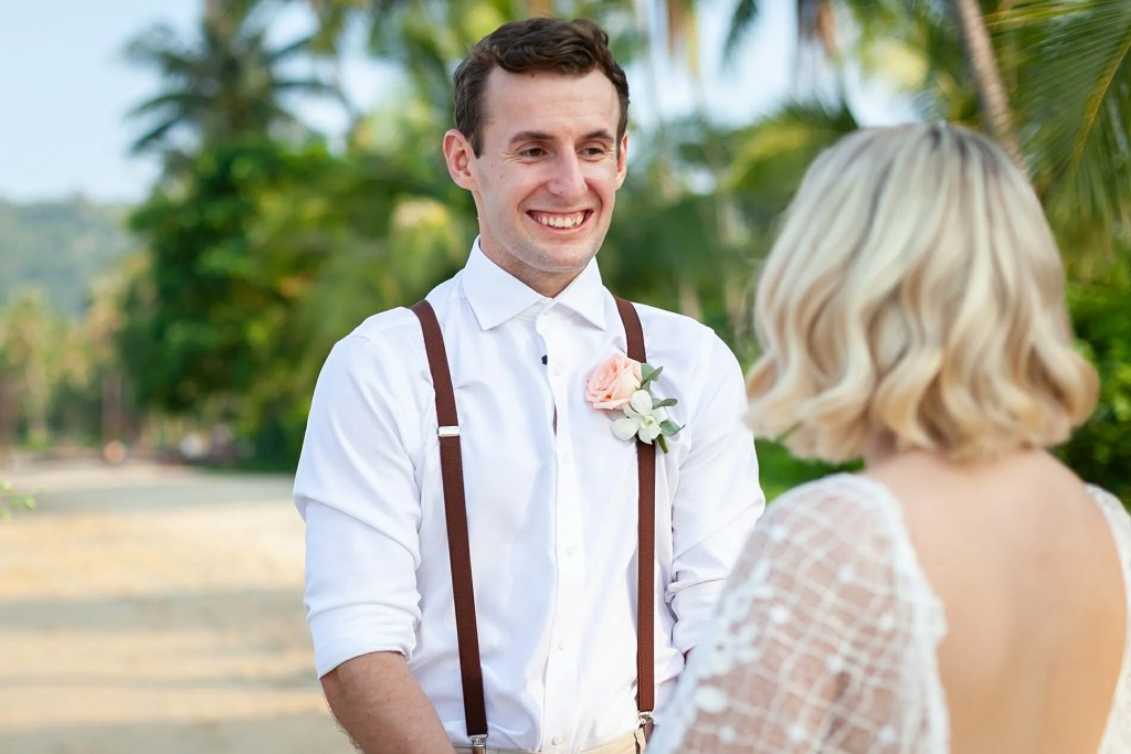 Beach Wedding Photographs - Coconut Island Resort Phuket 41