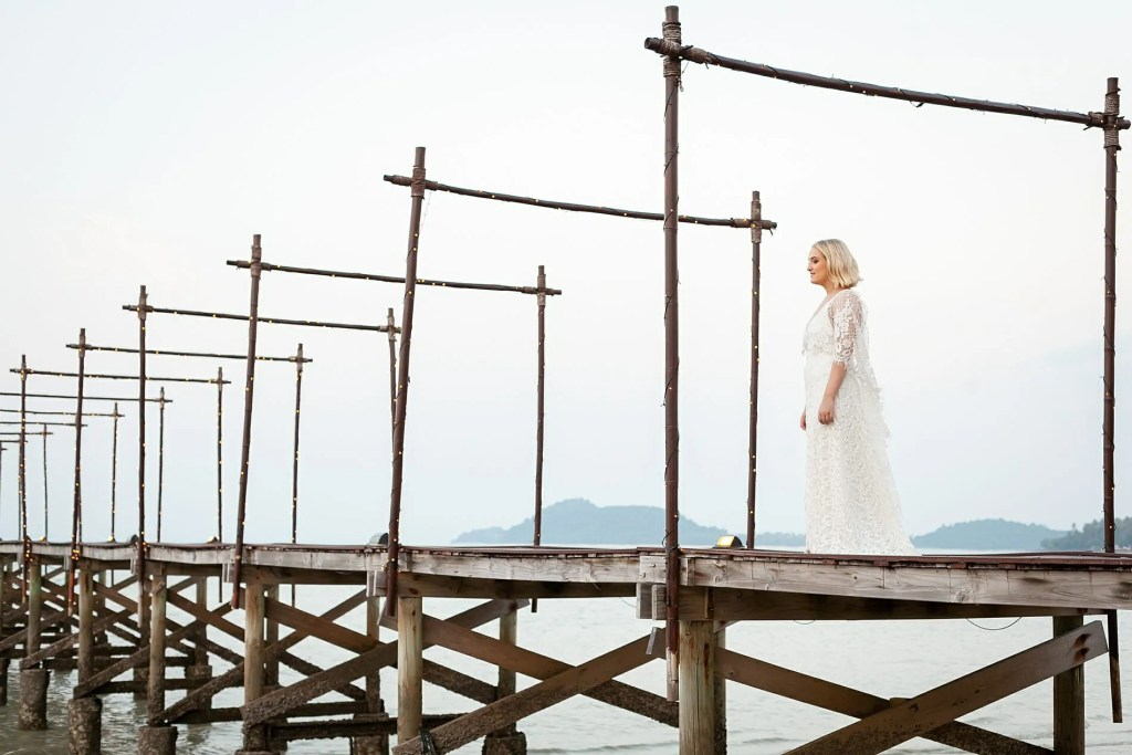 Beach Wedding Photographs - Coconut Island Resort Phuket 82
