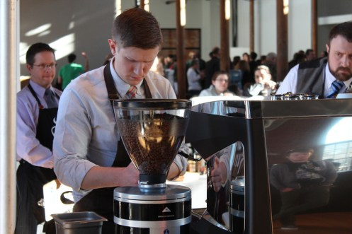 Michael Butterworth barista
