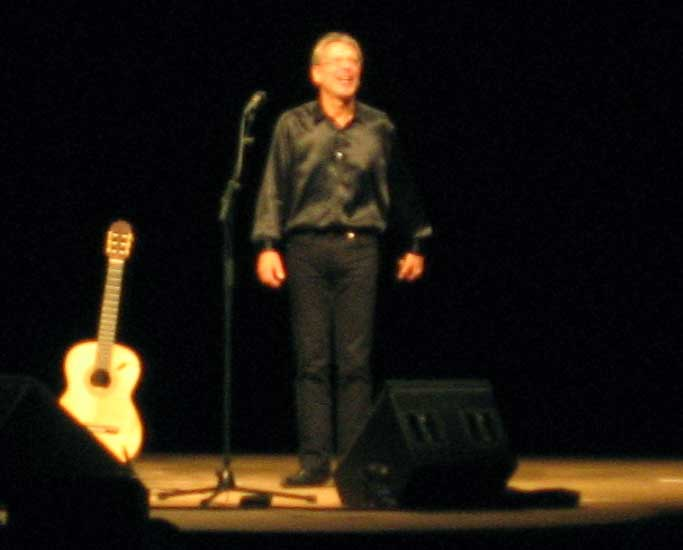 Reinhard Mey i Salzburgarena 16.11.2008