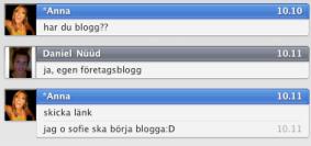 Är det ute att blogga?