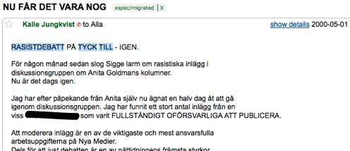 Mindpark #030: Aftonbladet Tycktill och domen mot Kalle Jungkvist