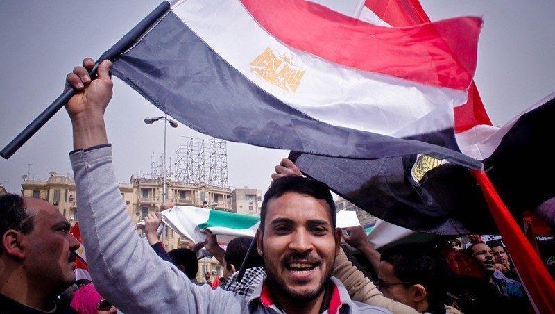 Egypt uprising, Tahrir Square, Egypt 2011 CC BY-NC-SA Maggie Obama (alt)