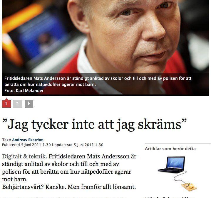 Världen kunde varit en bättre plats – utan FUD och utan Mats Andersson