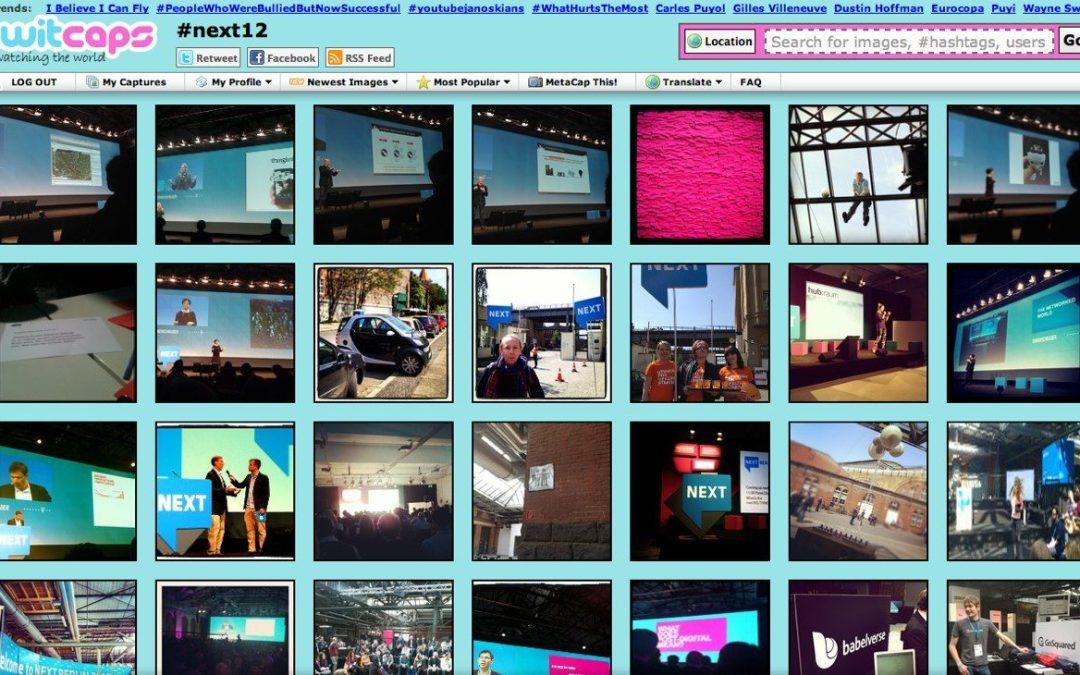 Så här följer du NEXT Berlin 2012