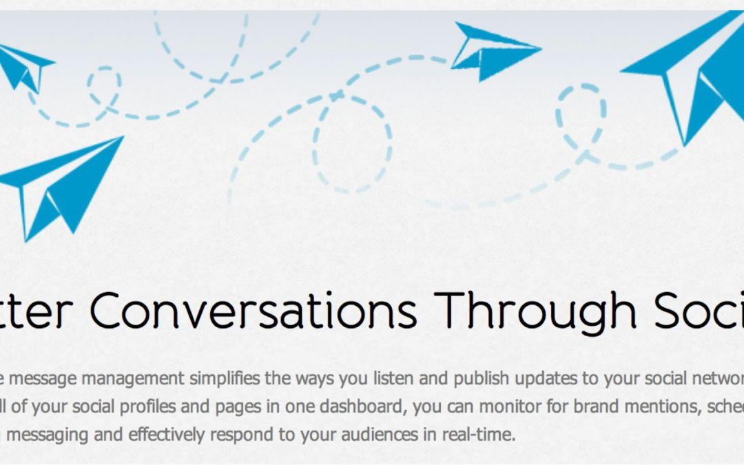 Hootsuite – why don't you want my conversation?