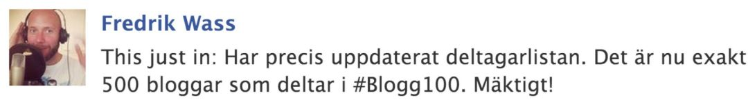 (31) #Blogg100