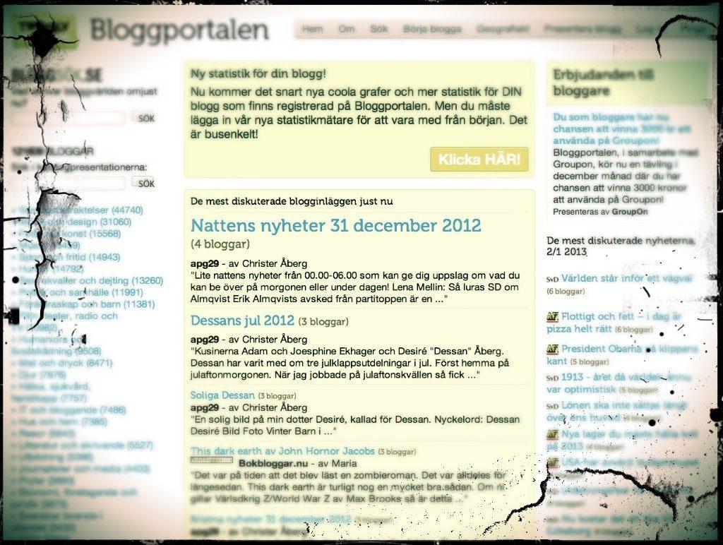 Ska du bli en del av bloggosfaren nu