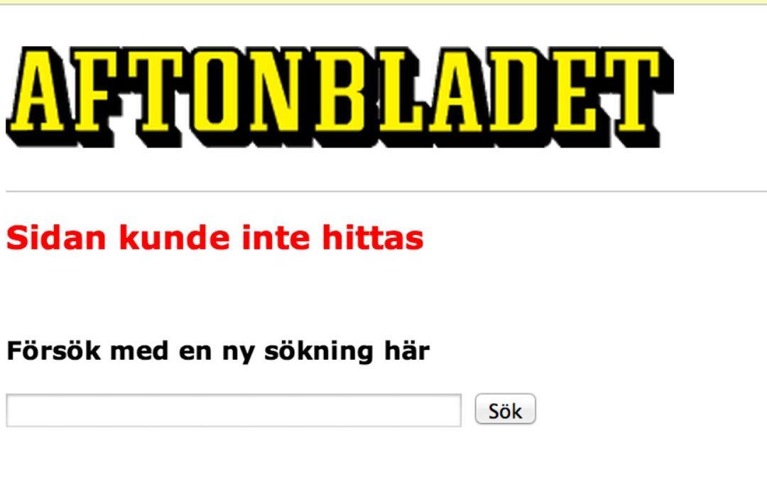 Aftonbladets plustjänst och grannens skulder (uppdaterad *3)