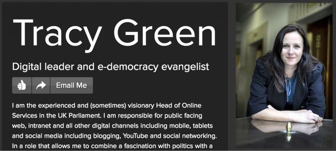 Tracy Green - London, UK Parliament | about.me