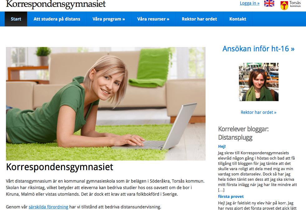 Om Korr onlinegymnasium på DN Debatt – skolan i Sverige måste gå framåt, inte bakåt