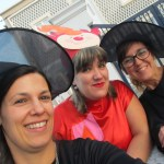 As Educadoras Anabela Querido e Cristiana e a Auxiliar Sofia