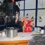 A Cozinheira Graça e a Auxiliar Isabel Neves