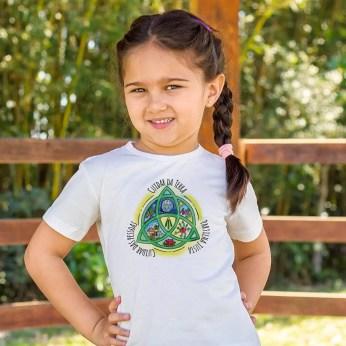 Camiseta Orgânica Éticas da Permacultura