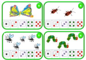 Cartes compter insectes le jardin d 39 alysse - Fiche de lecture effroyables jardins ...