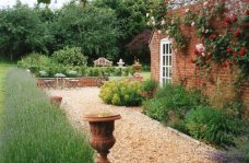 A Country garden is created