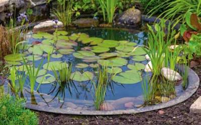 Estanques prefabricados. Haz tu estanque sin lios