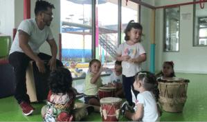 Taller Música Origami Jardines Infantiles