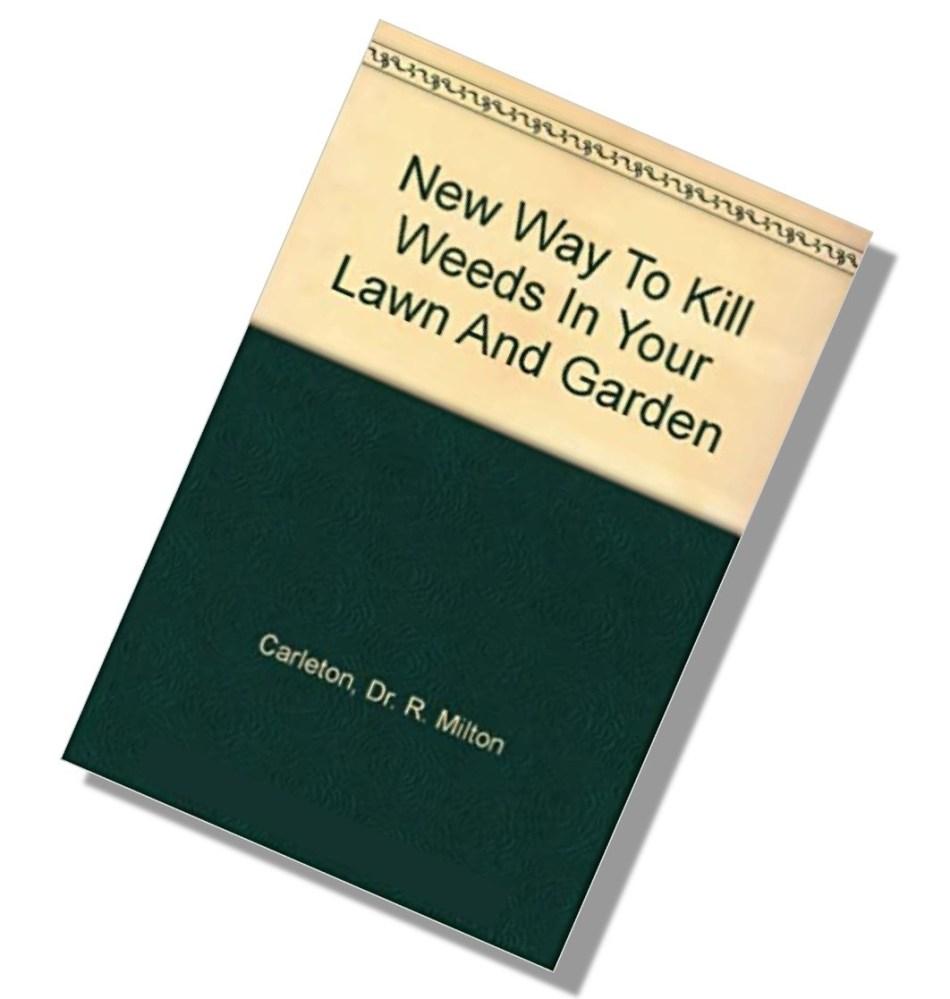 Vieux livre sur les pesticides de gazon.