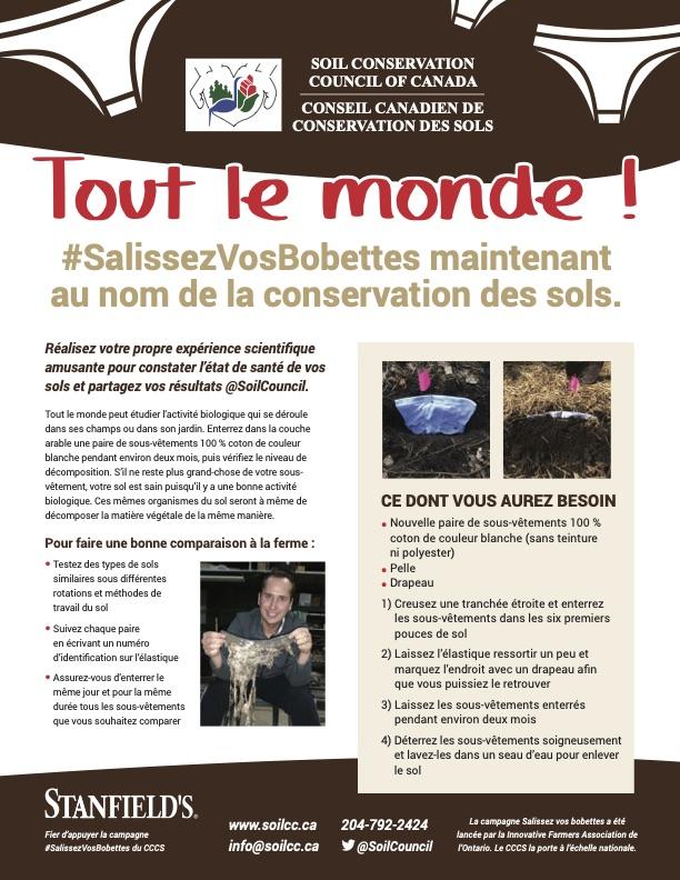 Annonce du Conseil canadien de conservation des sols