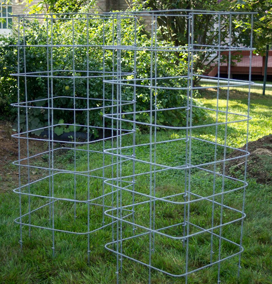 2 cages à tomate robustes.