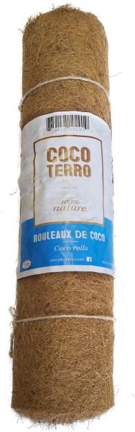 Rouleau de fibre de coco dans son emballage