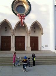 Christmas time at LMU- Sacred Heart Chapen