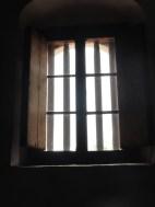 the sacristy window