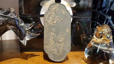 Empreinte d'encre solidifiée, CHINE - Prix de vente : 25€.