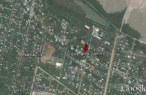 Map of Cove and John, East Coast Demerara
